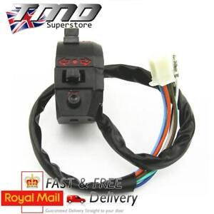 Motorcycle-Universal-Handlebar-Control-Switch-Light-Horn-Indicators-Bar-ATV-Quad