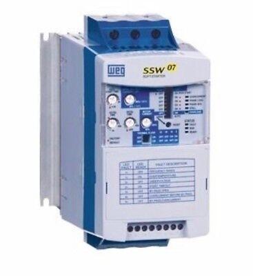 WEG SOFT START SSW050030T2246EPZ FOR 10-HP MOTOR* 230 Volt 3 Phase
