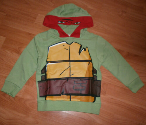Teenage Mutant Ninja Turtle Raphael Hoody Hoodie Hooded Top Age 2-3 Years BNWT