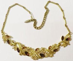 collier-ancien-bijou-vintage-couleur-or-navette-cristal-couleur-amethiste-4855
