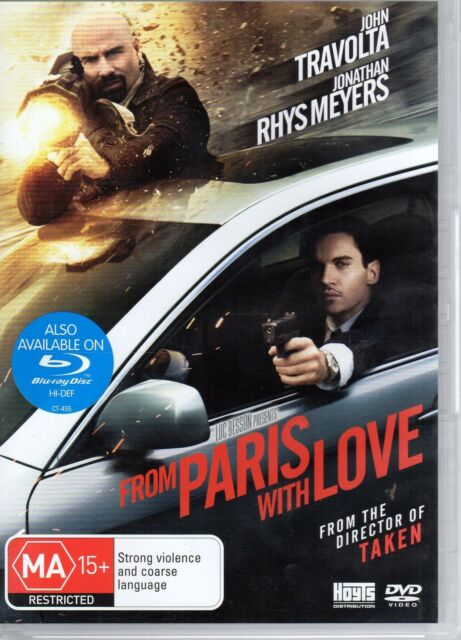 From Paris With Love (DVD, 2010)       #RC2