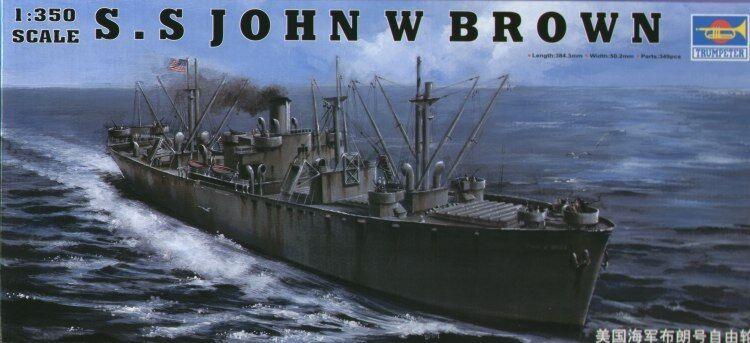 Trumpeter 1 350 SS SS SS John W Brown 3e390a
