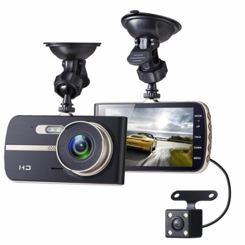 FULL HD in Car Rear View Mirror CCTV Security Dual Camera Recorder DASH CAM