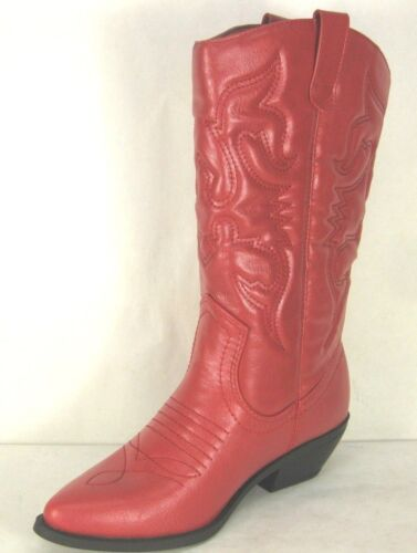 WOMEN/'S WESTERN POINTY TOE RODEO COWGIRL COWBOY BOOTS SODA RENO