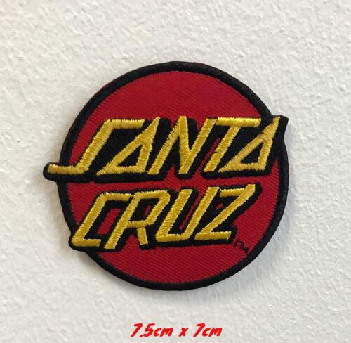 Santa Cruz SPORTS Art Badge Vêtements Brodé à Repasser Patch à Coudre