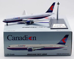 INFLIGHT 1:200 Canadian Airlines Boeing B767-300 Diecast Aircraft Model C-GSCA