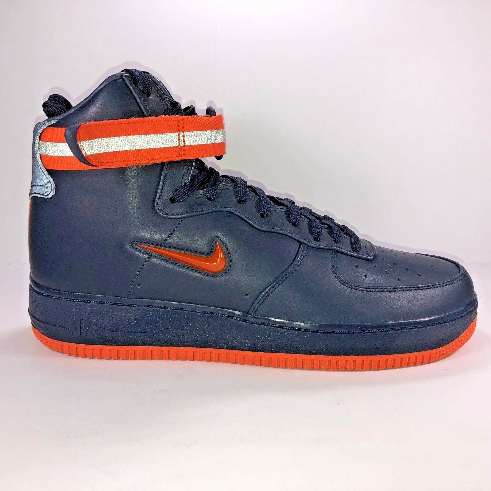 Nike Mens Size 12 Air Force 1 Retro FDNY Quick Strike Sneakers New AO1636-400