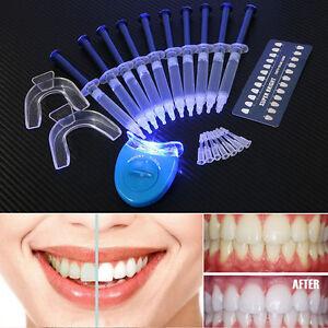 Pro-Teeth-Tooth-Whitening-Whitener-LED-White-Light-Oral-Gel-Dental-Bleaching-Kit