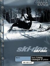 2001 SKI-DOO SNOWMOBILE MACH Z PARTS MANUAL P/N 484 400 173  (212)