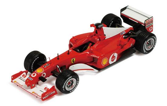 Ixo hot wheels 1 43 cofanetto ferrari f2002 sf20   02
