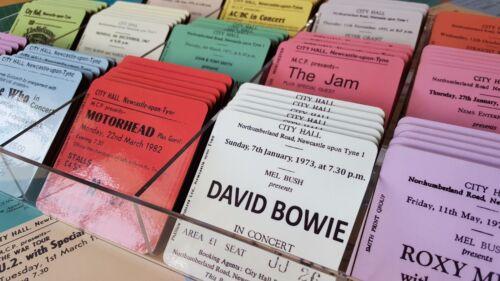 U2 Concert Coasters Ticket March 1983 High quality mdf