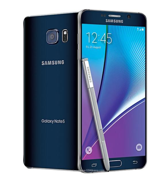 Samsung Galaxy Note 5 N920T (T-Mobile) 32GB Unlocked 3G/4G Teléfono Móvil- Negro