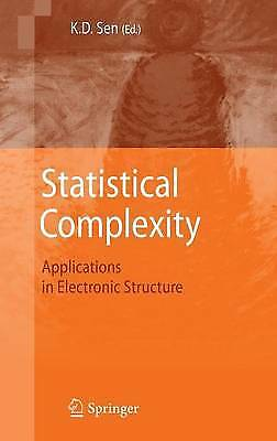 Statistical Complexity: Applications in Electron, , Excellent