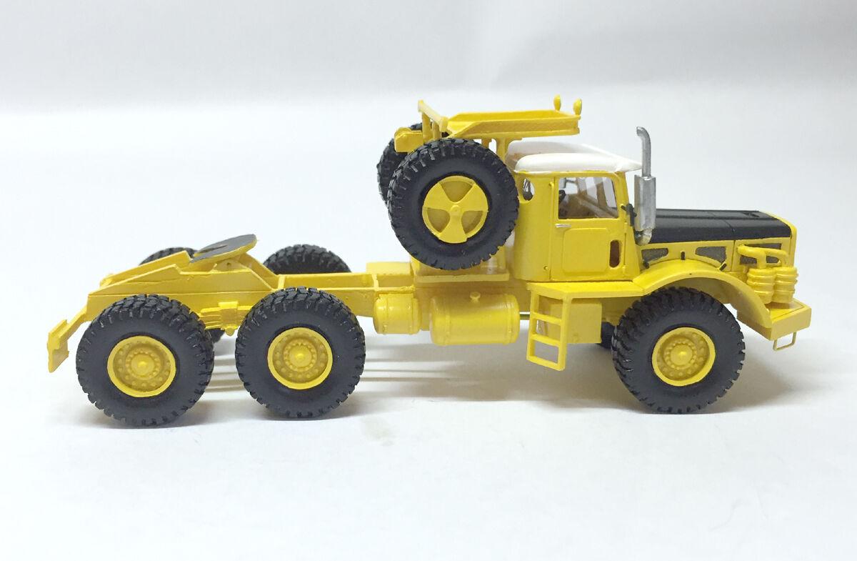 Ho 1/87 WILLEME W8-SAT 6X6 Tractor-ready made Resina Modelo por Fankit Models