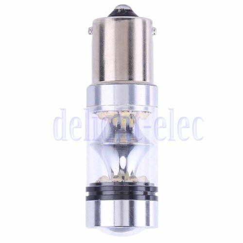 2pcs Car 100W 1156  P21W BA15S LED Backup Light Car Reverse Bulb Lamp DE