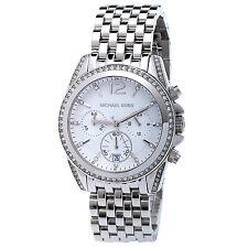 New Michael Kors Women's Chronograph Pressley Stainless Steel Watch 40mm MK5834