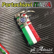 Portachiavi Bandiera Tricolore Italia Auto Moto LANCIA