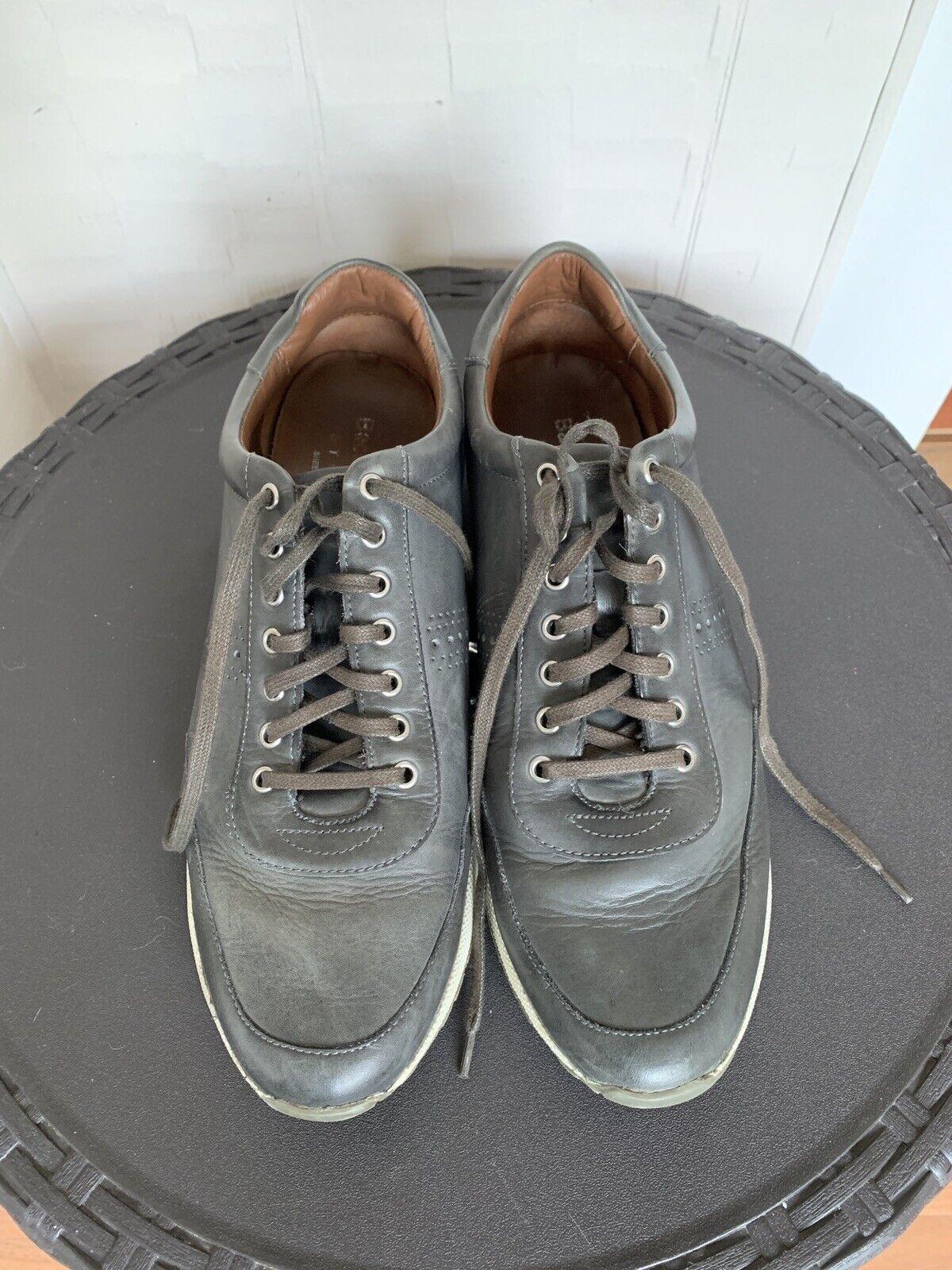 Backo Bucci Studio gris cordero moda calzado de Oxford 12 yardas masculino