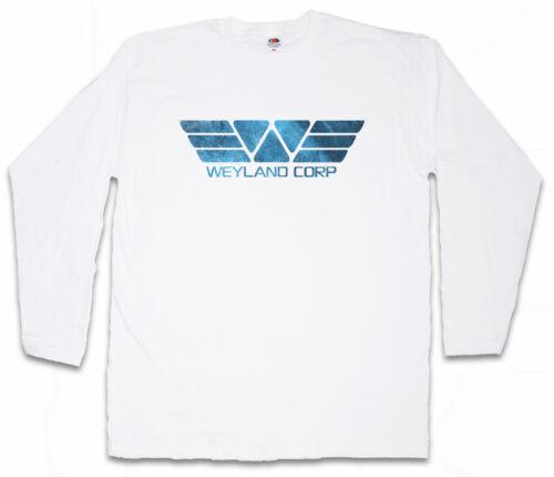 WEYLAND CORPORATION II LANGARM T-SHIRT USCSS Nostromo Alien Yutani Logo Symbol