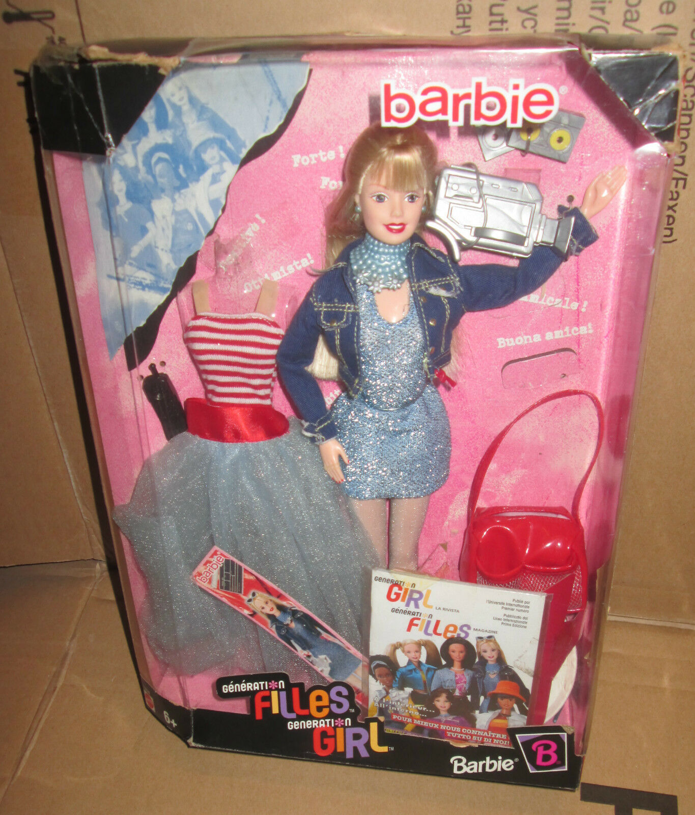 MATTEL BARBIE GENERATION GENERATION GENERATION FILLES GIRLS FILLES GIRL BARBIE BAMBOLA DOLL 0fcabf