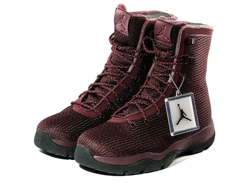 NWOB Men's Jordan Future Boot (Burgundy) - 854554-600 Boots  Sz us 10-D