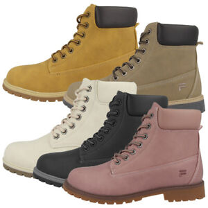 Details about FILA Maverick Mid Shoes Womens Outdoor High Top Boots Hiking Boots 1010196 show original title