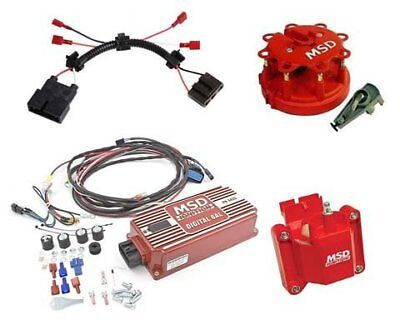 MSD Ignition Tuneup Kit 96-98 Chevy//GMC Vortec 5.0//5.7L Cap//Rotor//Coils//Wires