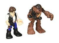 Playskool Heroes Star Wars Galactic Heroes Han Solo And Chewbacca Free Shipping