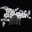 Luxury-Crystal-Rhinestone-Flower-Wedding-Bridal-Hair-Comb-Hairpin-Clip-Jewelry thumbnail 24