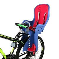Bicycle Baby Rear Seat Kids Chair Bike Carrier & Handrail Safety Attach E6y8