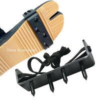 Brand 2pc Ninja Boot Shoe Foot Claws Climbing Spikes Tree Wall Steel Snowfield