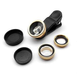 3in1-Clip-On-Camera-Lens-180-Fisheye-Wide-Angle-Macro-SmartPhone-iphone-6-Gold