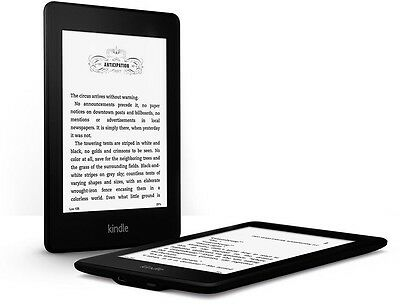 BRAND NEW Amazon Kindle Paperwhite High Resolution WI-FI 4GB Latest 2015 Model