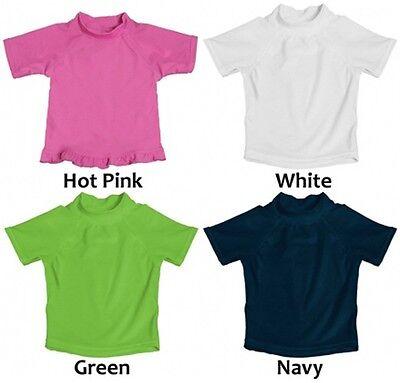 Kushies Baby Girls T-Shirt Short Sleeves Light Pink 18 Months