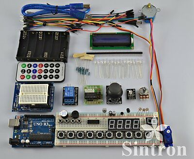 [Sintron] UNO R3 Board Master Starter Kit + PDF files For Arduino AVR Learner