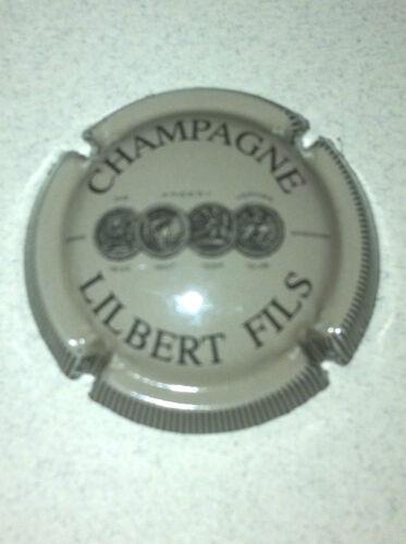 19. gris et noir striée Capsule de Champagne LILBERT Fils