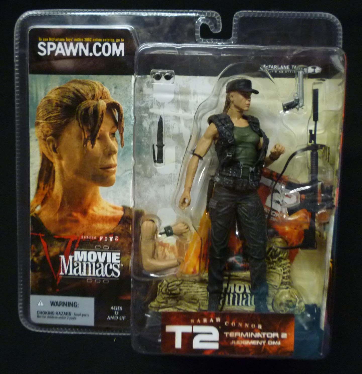 McFarlane giocattoli Movie uomoiacs Series  5 Sarah Connor azione cifra nuovo 2002  shopping online di moda
