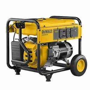 DEWALT PMC165700.01 DXGNR5700 Portable Generator, Yellow, Black