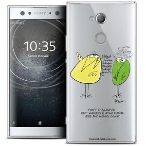 """Infatigable Coque Crystal Gel Pour Sony Xperia Xa2 Ultra (6"""") Souple Les Shadoks® Le Dialogu MatéRiaux Soigneusement SéLectionnéS"""