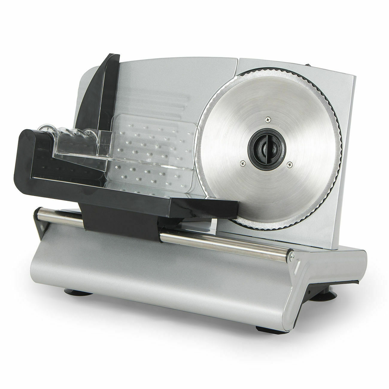 Electric Meat Slicer Stainless Steel Blade Bread Cheese Cutter Deli Food Machine 2