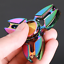 Multicolor-Hand-Spinner-Wurfstern-Optik-Fidget-ADHD-ADS-EDC-Anti-Stress-Top-WoW Indexbild 3