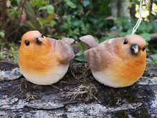 Ideal For Garden Or Home Fountasia Small Cute Bobbin Robin