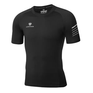 Men-Sport-Short-Sleeve-T-Shirt-Cool-Dry-Athletic-Fitness-Workout-Running-Gym-Top