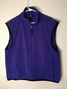Details about Vintage 80s 90s NIKE ACG Vest XL Purple Therma Fit Fleece Air Gray Tag Era