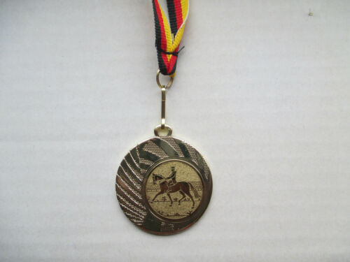 Pokale & Preise Reiten Dressur Reiter Pokal Kids Medaillen mit Band&Emblem Turnier Pokale e262