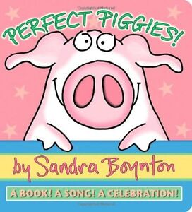 perfect piggies a book a song a celebration by boynton sandra author may 26 2010 hardcover