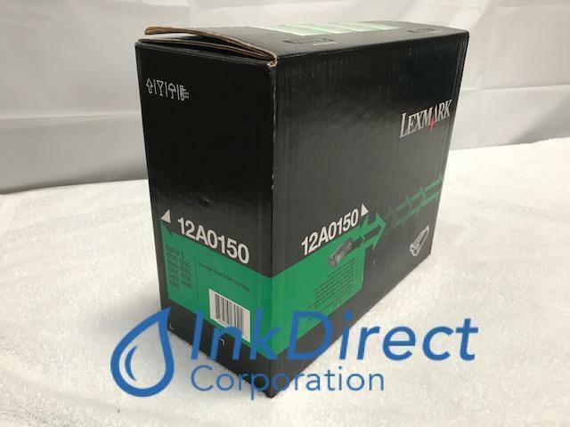 Genuine Lexmark 12A0150  Print Cartridge Black Optra S1250 S1250N S1255 S1620 S1