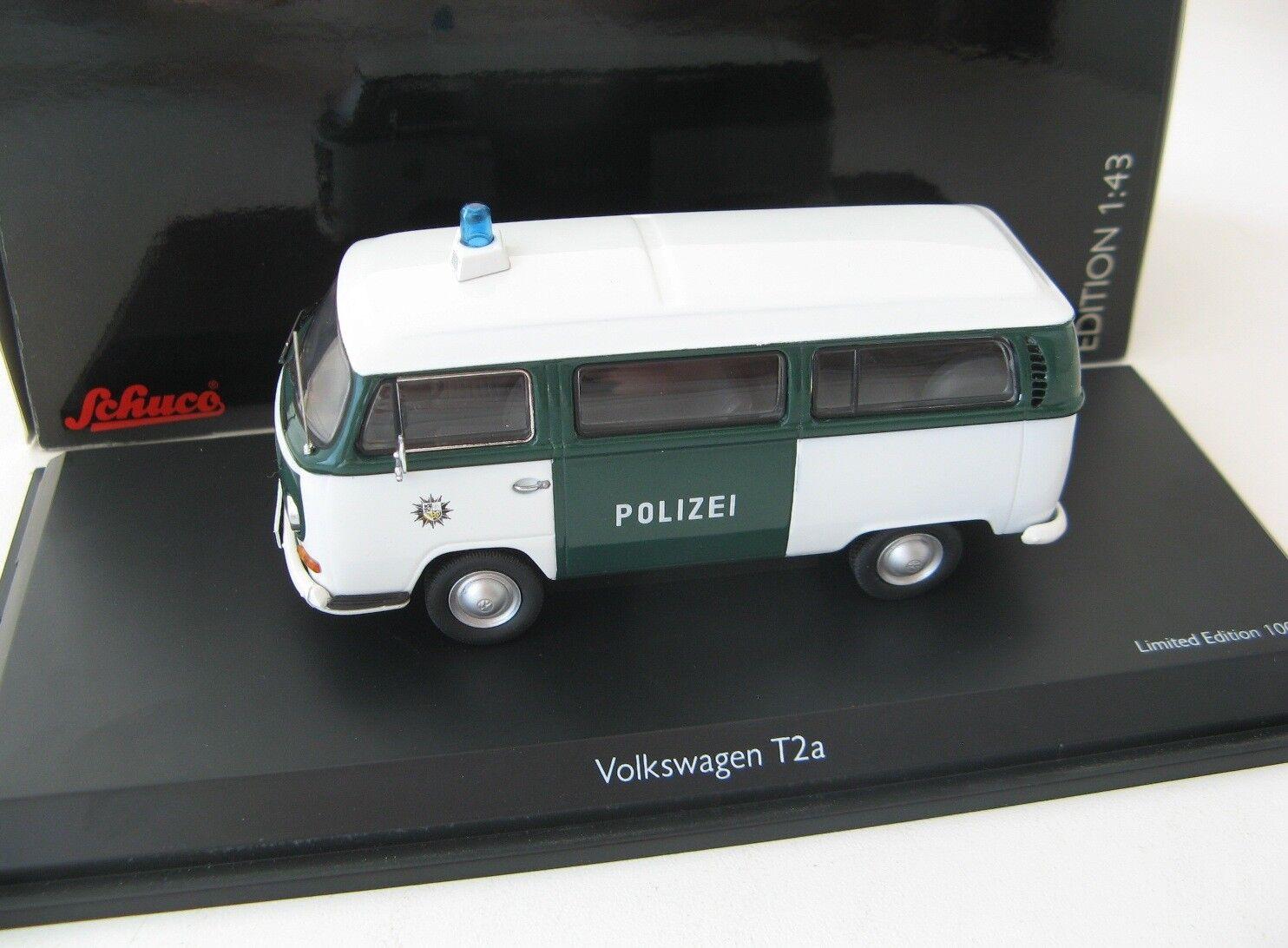VW T2a autobus Polizei Saarbrücken 143 Schuco RARA