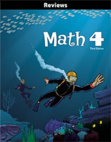 BJU Press - Math 4 Student Reviews (3rd ed.) 260158