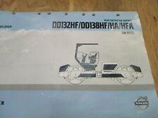 Volvo Dd132hf Dd138hf Ha Hfa Asphalt Compactor Parts Catalog